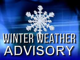 WEATHER ANNOUNCEMENT FOR WEDNESDAY, FEBRUARY 20th